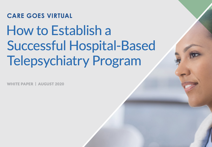 white paper hospital based telepsychiatry